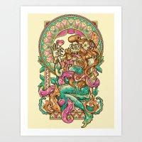 MerMadNess Art Print