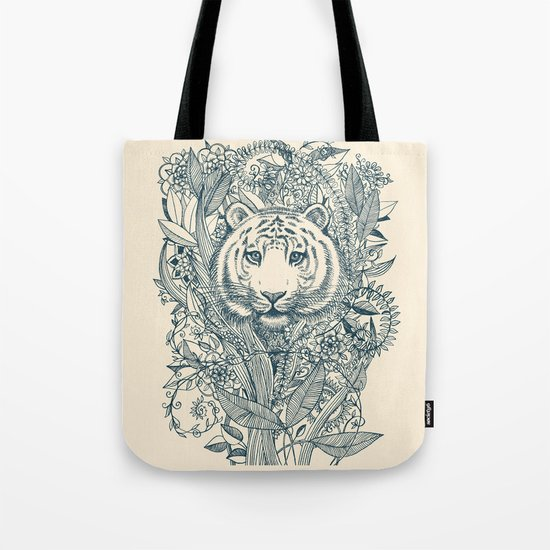 Tiger Tangle Tote Bag
