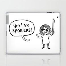 No Spoilers Laptop & iPad Skin