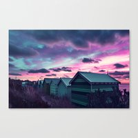 Infrared Sunset Canvas Print