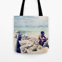 Breakers Day Tote Bag