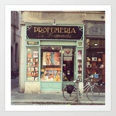 Profumeria Parma Art Print