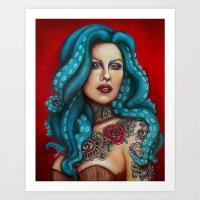 Odette Art Print