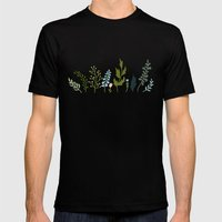 Found Mens Fitted Tee Black SMALL