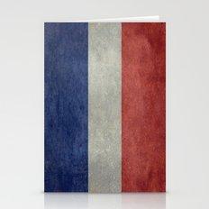 The National Flag Of Fra… Stationery Cards