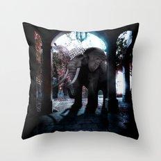 Persian Fantasy Throw Pillow