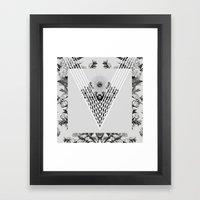 VVVV Framed Art Print