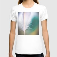 feather T-shirts featuring Feather by Dora Birgis