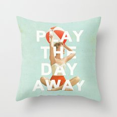 Play The Day Away Throw Pillow