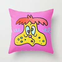 DUMBY DUED Throw Pillow