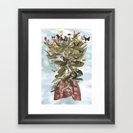 Tsatina Framed Art Print