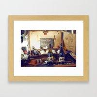 Vin Au Frais: Chilled Wi… Framed Art Print