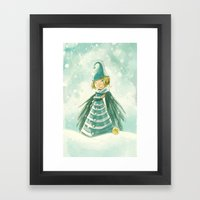 Goblins Drool, Fairies Rule! - Snowflake Shelly Framed Art Print