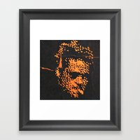Tyler Durden Without The… Framed Art Print