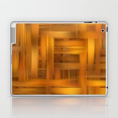 Digital wicker pattern Laptop & iPad Skin
