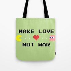 Make Love Not War Tote Bag