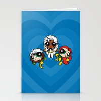 Chemical X-Girls Stationery Cards