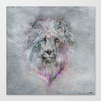 Heart Like A Lion Canvas Print