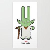 Sr. Trolo / yoda Art Print