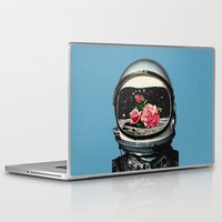 rose Laptop & iPad Skins featuring Spring Crop at the Rosseland Crater by Eugenia Loli
