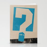 Doctor  Who? Stationery Cards