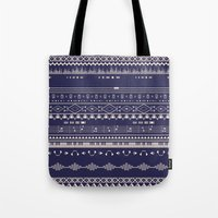 Native Groovy Tote Bag