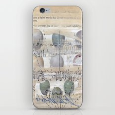 Ascension Through Clouds iPhone & iPod Skin