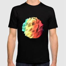 Atmosphere SMALL Black Mens Fitted Tee