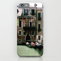 iPhone & iPod Case featuring Water Filled Alleyway  by Maddie Weaver