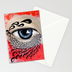 Tears Flow Stationery Cards
