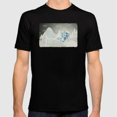 Un yeti Mens Fitted Tee Black SMALL