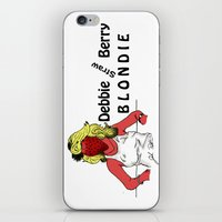Debbie Straw-Berry   Blondie iPhone & iPod Skin
