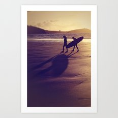 Long Shadows and High Hopes Art Print