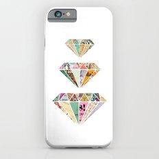 Diamonds are a Girls Best Friend iPhone 6 Slim Case