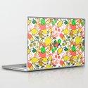 Lila's Flowers Repeat Laptop & iPad Skin