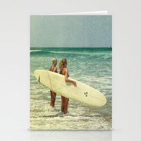 Girls of summer ttv Stationery Cards