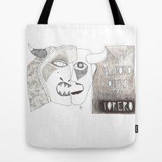 El toro que quería ser torero Tote Bag