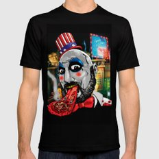 Killer Circus Mens Fitted Tee Black SMALL