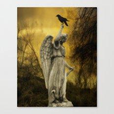 Golden Eclipse Canvas Print