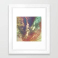 Cloud Art Framed Art Print