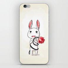 Bunny Flower iPhone & iPod Skin