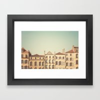 Designated Town Of Art &… Framed Art Print