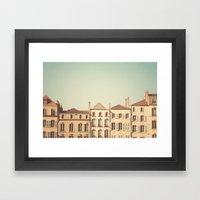 Designated Town Of Art &… Framed Art Print