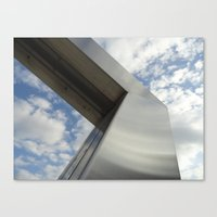 Art and Sky Canvas Print