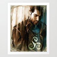 Derek Hale * Tyler Hoech… Art Print