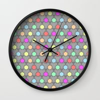 Careless Woman Pattern V… Wall Clock