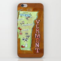 VERMONT iPhone & iPod Skin