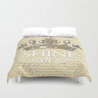 Shine On Duvet Cover