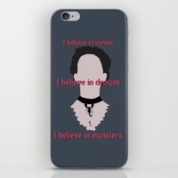 Vanessa Quote iPhone & iPod Skin