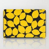 lemons 1 iPad Case